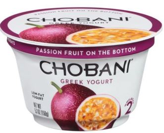 passion fruit chobani