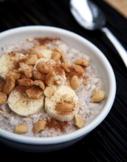 overnight oats with cashews