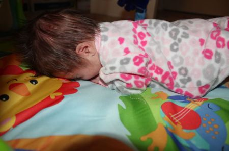 Zoe Tummy Time #3